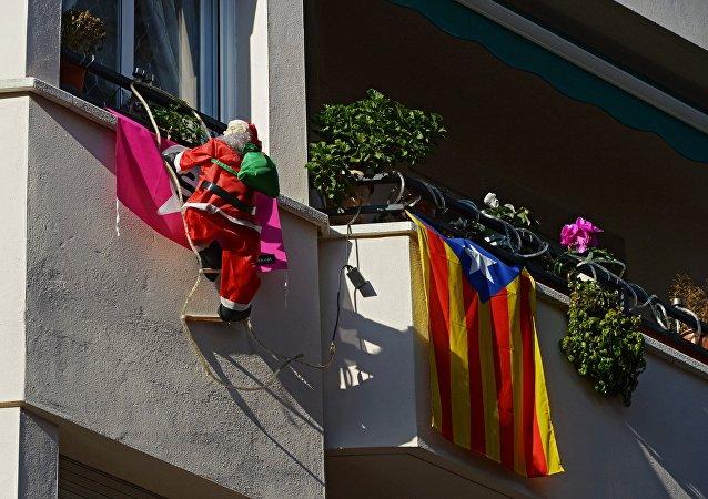 Bandera de Cataluña (imagen referencial)