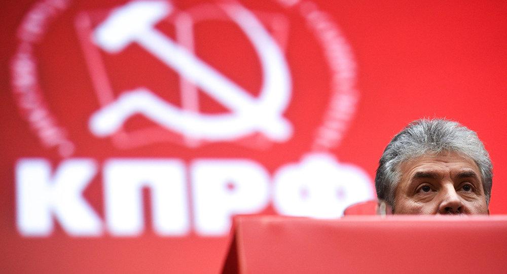 Pável Grudinin,el candidato del Partido Comunista ruso para las elecciones presidenciales de 2018
