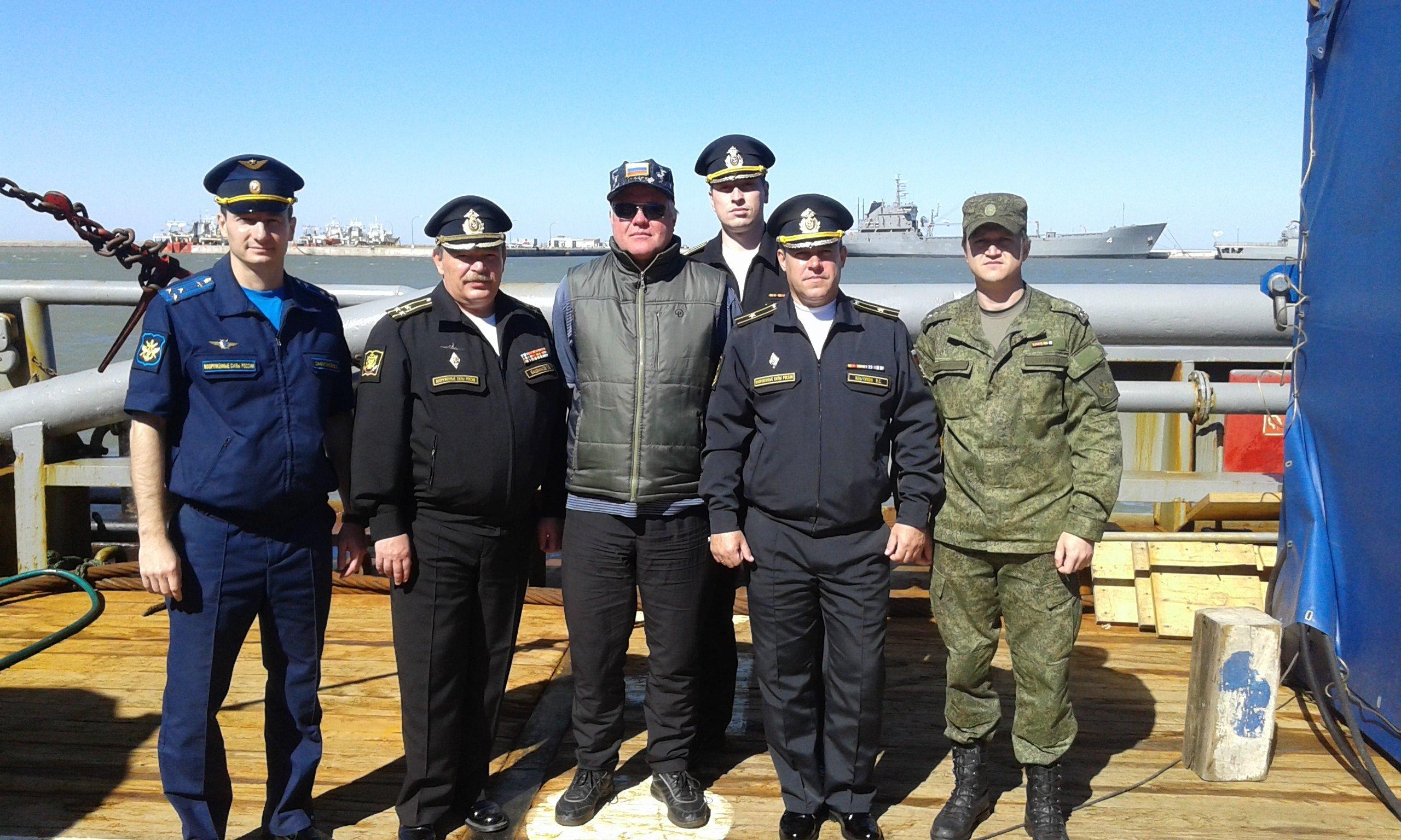 Equipo ruso para la búsqueda del ARA San Juan
