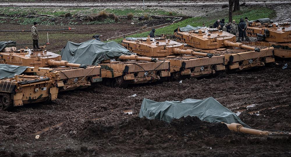 Los tanques Leopard de las Fuerzas Armadas de Turquía (imagen referencial)