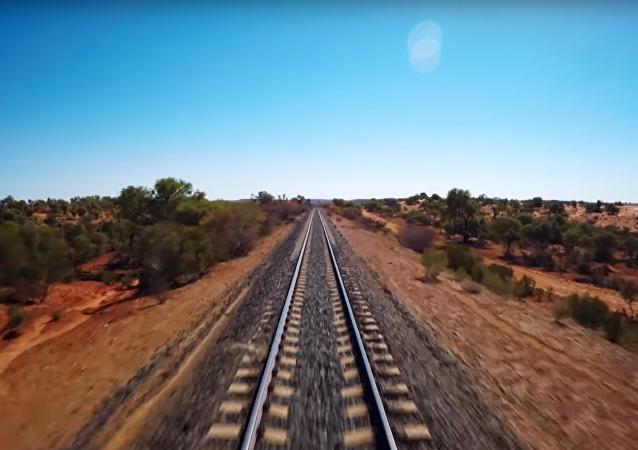 La televisión australiana publica 17 horas seguidas del trayecto de su tren más famoso