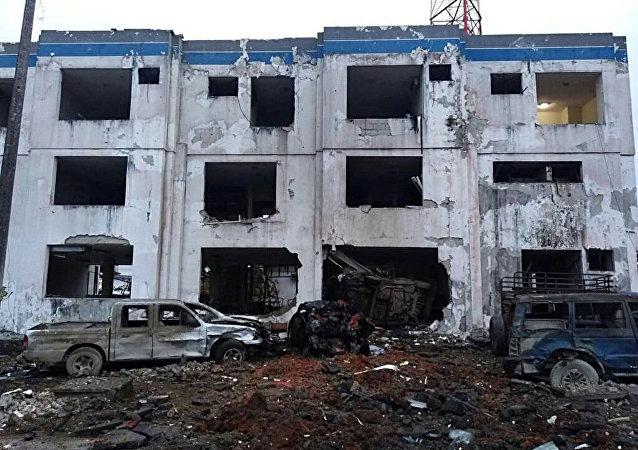 Resultado del coche bomba en Ecuador