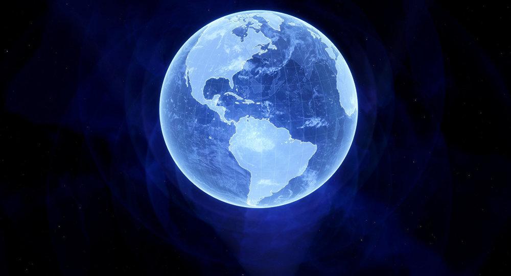 Un holograma de la Tierra
