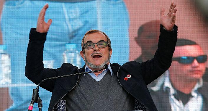 Rodrigo Londoño, alias Timochenko, máximo líder de las FARC