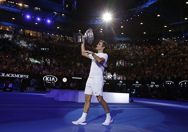 Roger Federer se proclama campeón del Open de Australia 2018