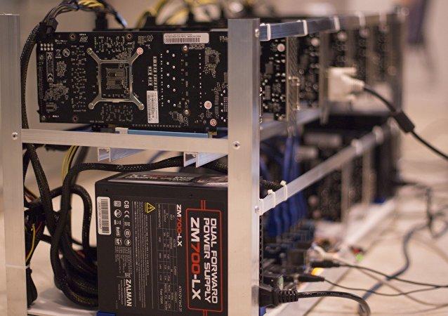 Minería de criptomonedas (imagen referencial)