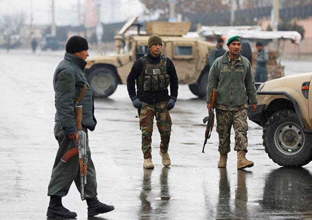 Situación en Kabul, la capital de Afganistán, tras un ataque a un cuartel militar
