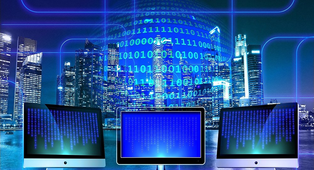 Una red de computadoras