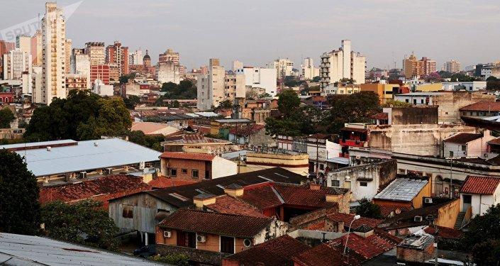 Asunción, la capital paraguaya