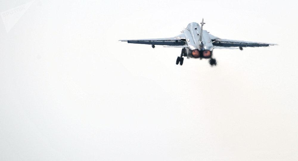 El bombardeo ruso Su-24