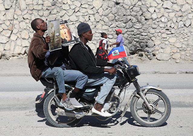 Las protestas en Haiti contra la declaración de Trump