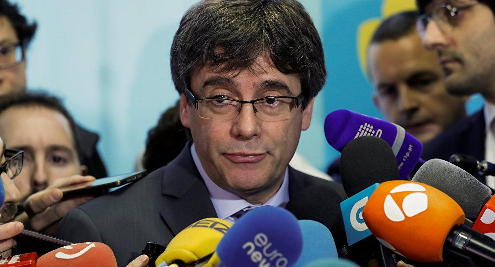 Carles Puigdemont, el expresidente catalán y líder independentista