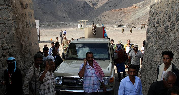 Situación en la ciudad yemení de Adén