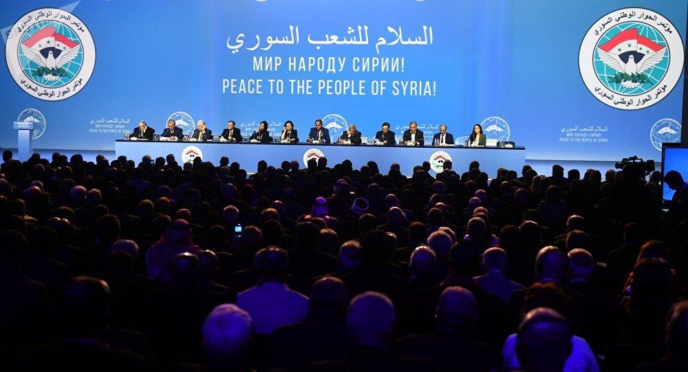 El Congreso del Diálogo Sirio en Sochi