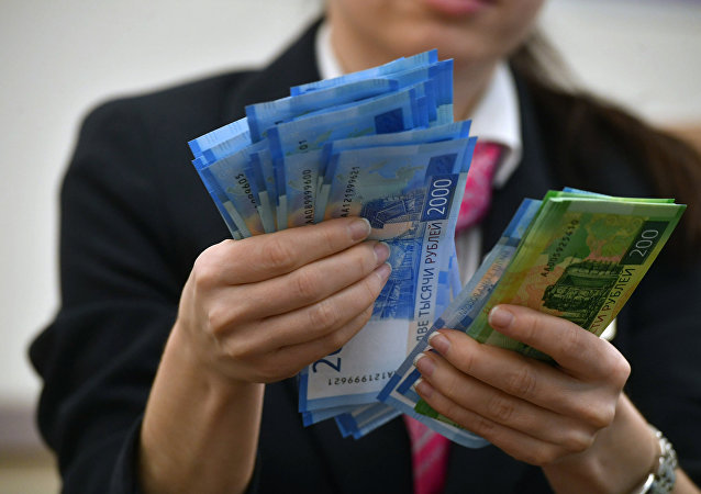 Rublos rusos (imágen referencial)