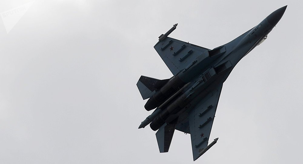 Un Su-27 ruso