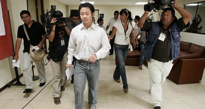 Kenji Fujimori, congresista peruano independiente (archivo)