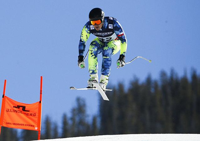 Henrik Von Appen, el esquiador chileno