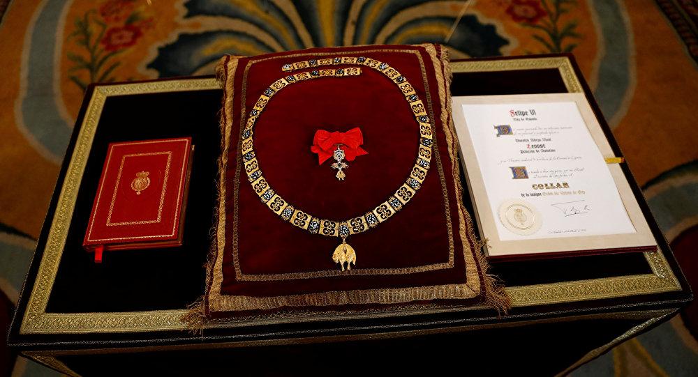 El collar Toisón de Oro