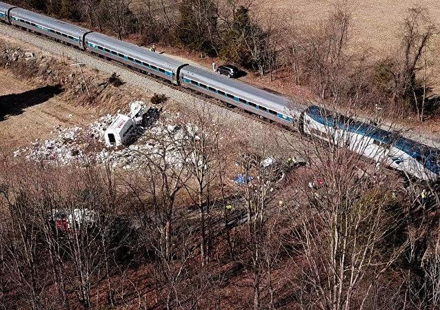 Accidente de tren en Virginia Occidental