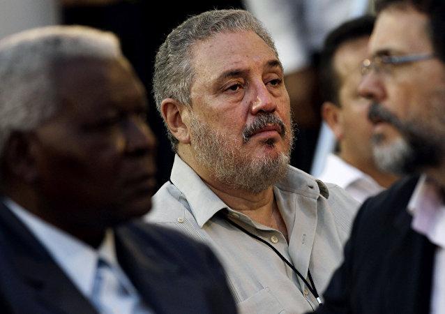 Fidel Castro Diaz-Balart, hijo de Fidel Castro