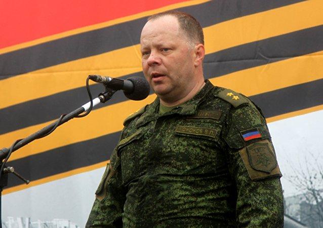 Vladímir Kónonov, ministro de Defensa de la RPD