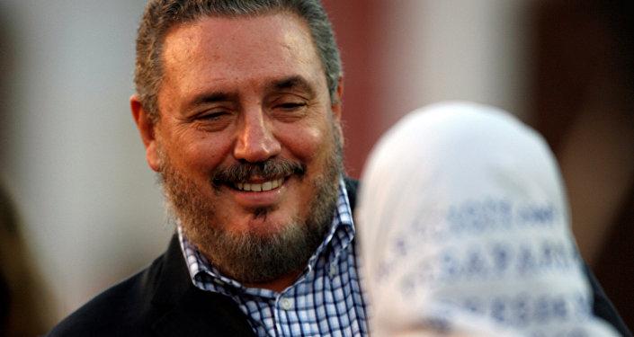 Fidel Castro Díaz-Balart, el hijo de Fidel Castro