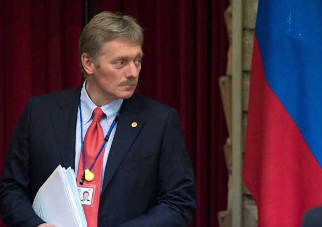 Dmitri Peskov, portavoz del Kremlin (arhivo)
