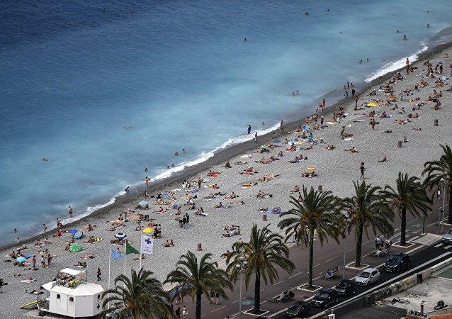 Playa de Niza, Francia (archivo)