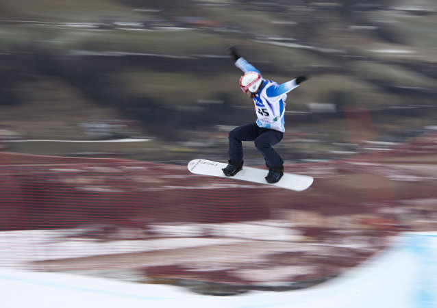 Steven Williams, el atleta argentino de snowboard cross