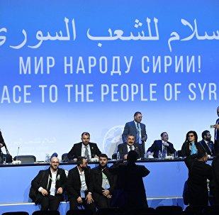 Congreso del Diálogo Nacional en Sochi