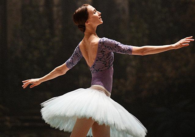 Svetlana Zajárova, primera bailarina del teatro Bolshói