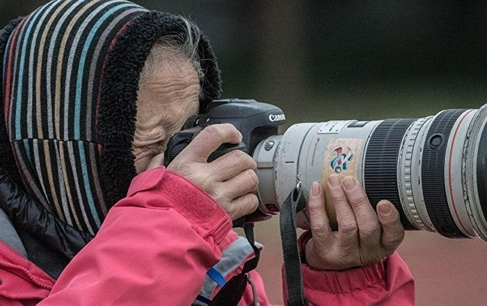 La veterana fotógrafa china Hong Nanli