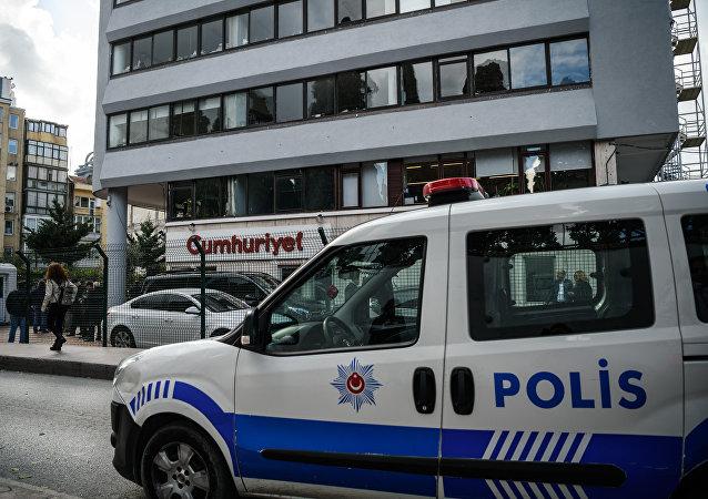 Un auto de la policía turca (imagen referencial)