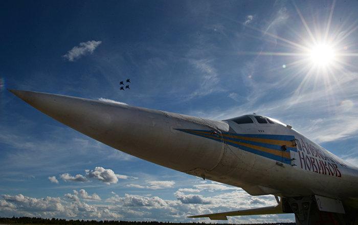 Un bombardero Tu-160 (archivo)