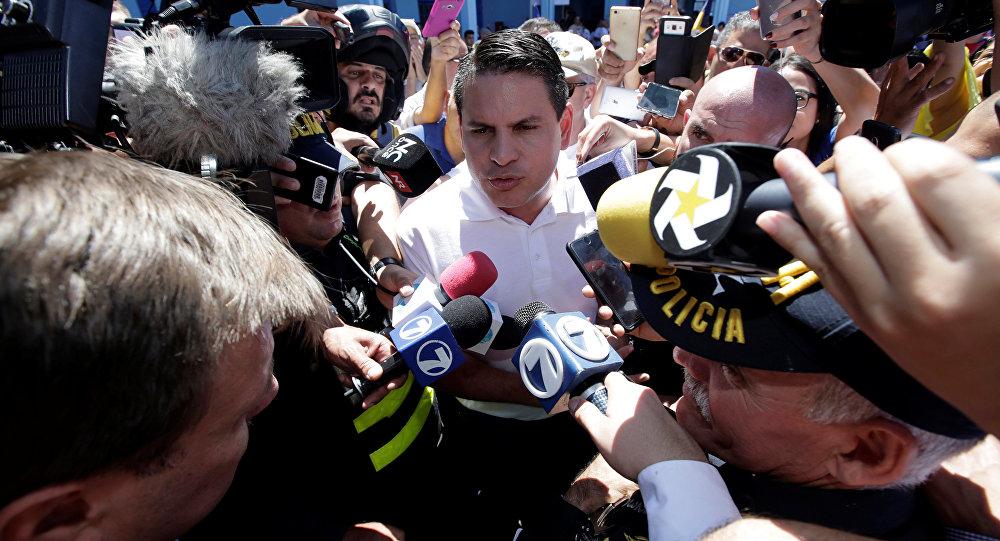 Fabricio Alvarado, candidato a las presidenciales de Costa Rica