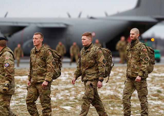 Fuerzas de la OTAN llegan a Estonia