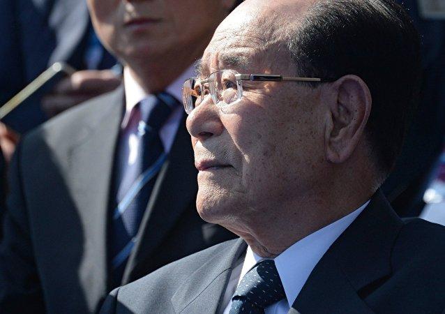 Kim Yong-nam, presidente del Parlamento de Corea del Norte