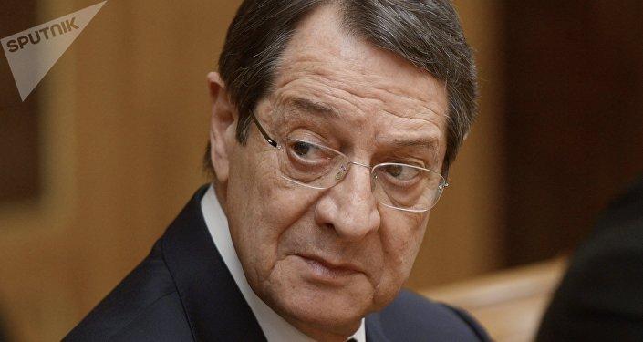 Nikos Anastasiadis, presidente de Chipre