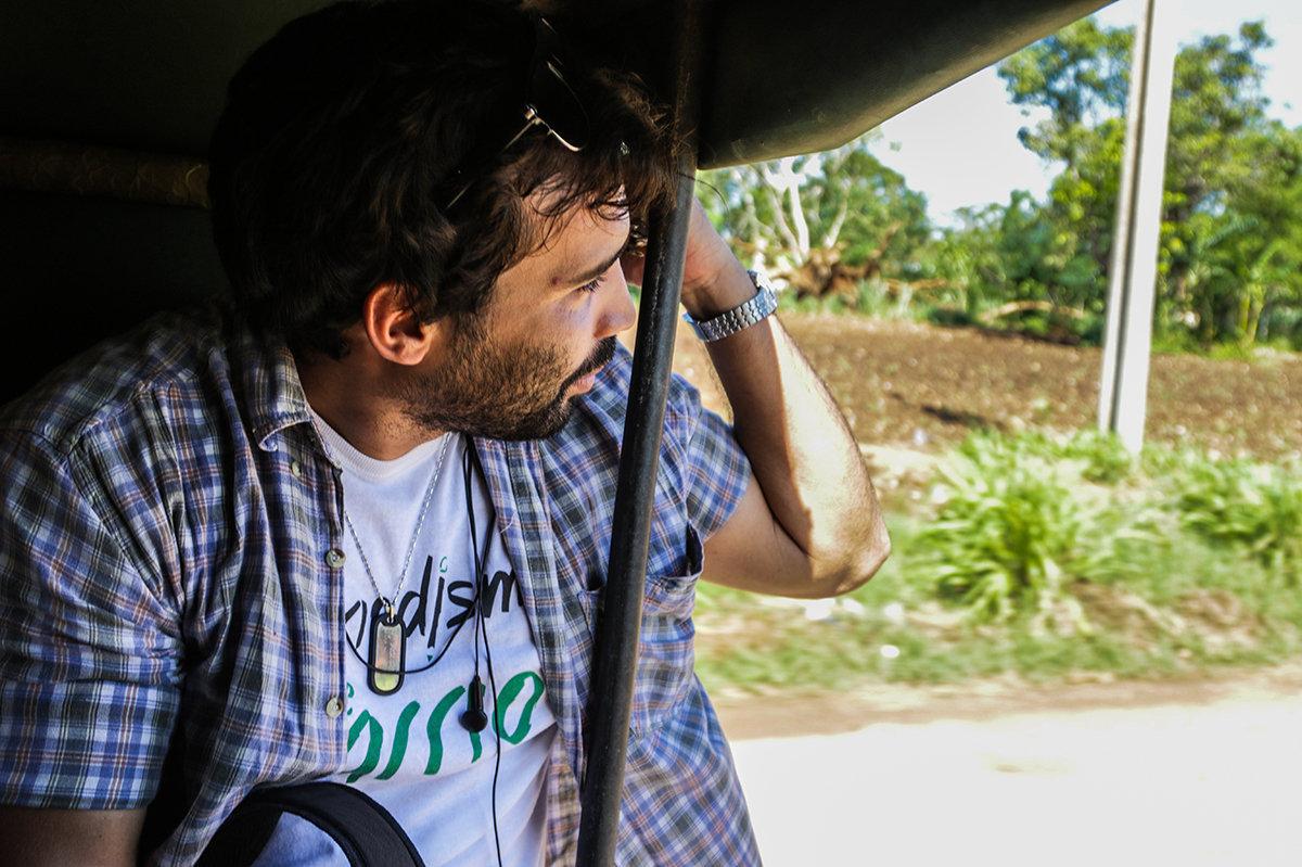 Julio Batista, ganador del Premio de Periodismo Rey de España