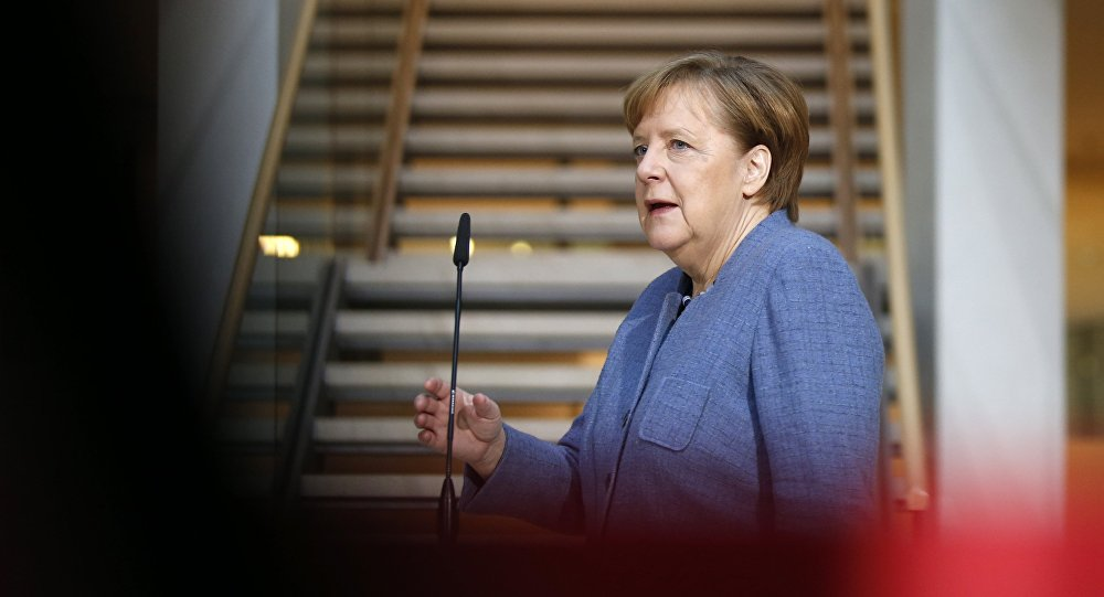 Angela Merkel, la canciller federal de Alemania