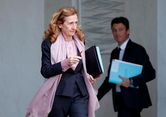 Nicole Belloubet, la ministra de Justicia de Francia