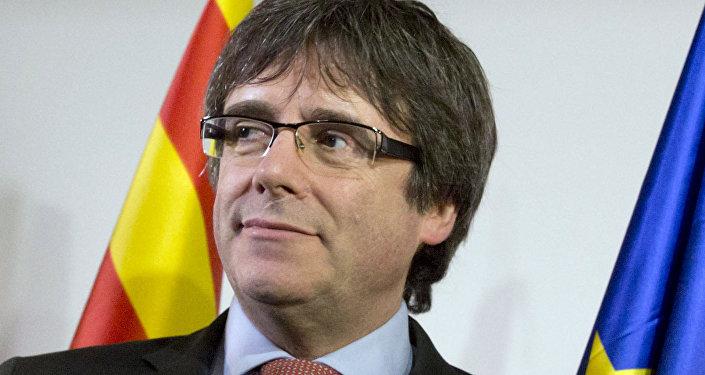 Carles Puigdemont, expresidente del Gobierno catalán