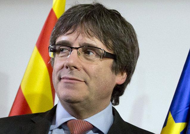 Carles Puigdemont, presidente del Gobierno catalán cesado