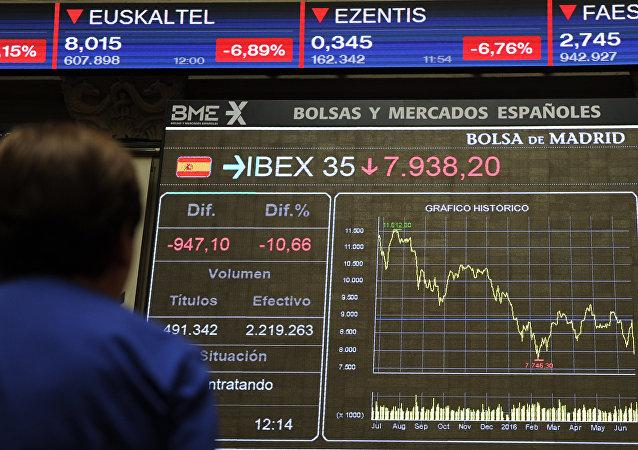 La Bolsa española, el IBEX 35