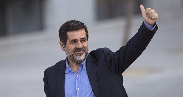 Jordi Sànchez, el expresidente de la Asamblea Nacional Catalana (archivo)