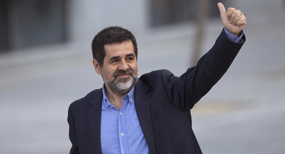 Jordi Sánchez, el expresidente de la Asamblea Nacional Catalana