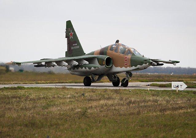 Avión de asalto ruso Su-25