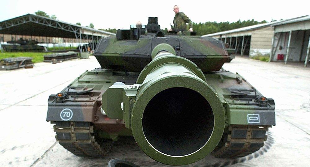 El tanque alemán Leopard