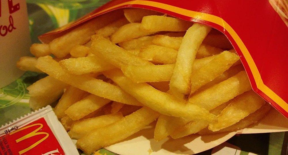 Patatas fritas de McDonald's